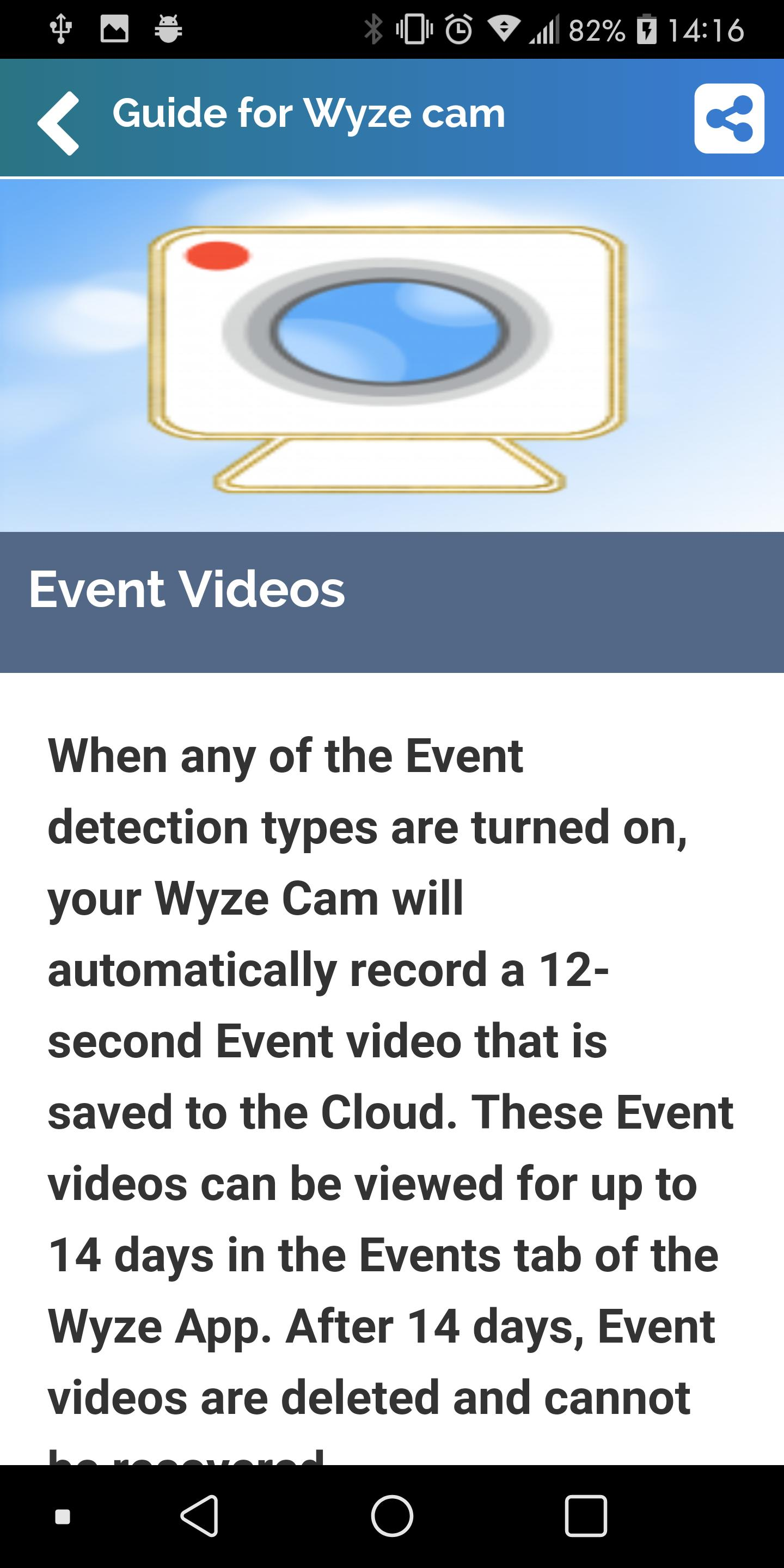 Guide for Wyze Cam for Android - APK Download