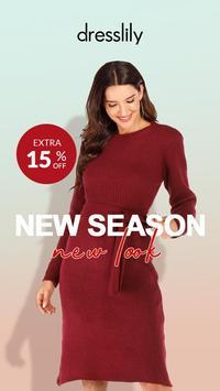 Dresslily——Fashion Shopping Trend poster