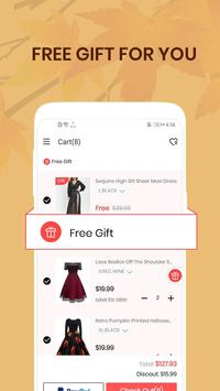 Dresslily-Fashion Shopping Trend تصوير الشاشة 4
