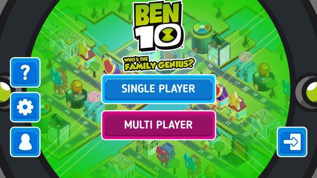 Ben 10: Who's the Family Genius? poster