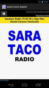 Sarataco Radio poster