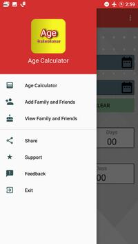 Age Calculator - Birthday Date Saver poster