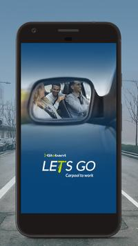 Let's Go - Carpool to work poster