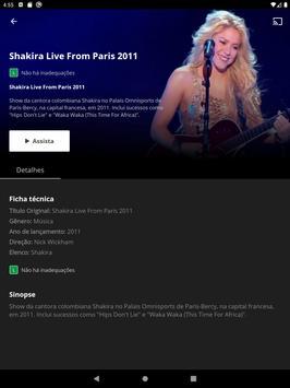Canais Globo (Globosat Play) imagem de tela 11