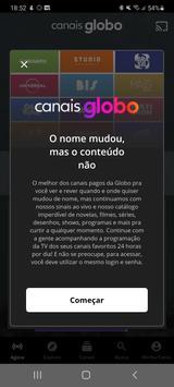 Canais Globo (Globosat Play) imagem de tela 1