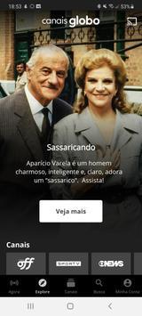 Canais Globo (Globosat Play) imagem de tela 2
