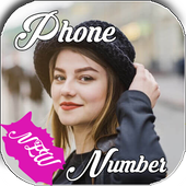 Girls Phone Number App icon