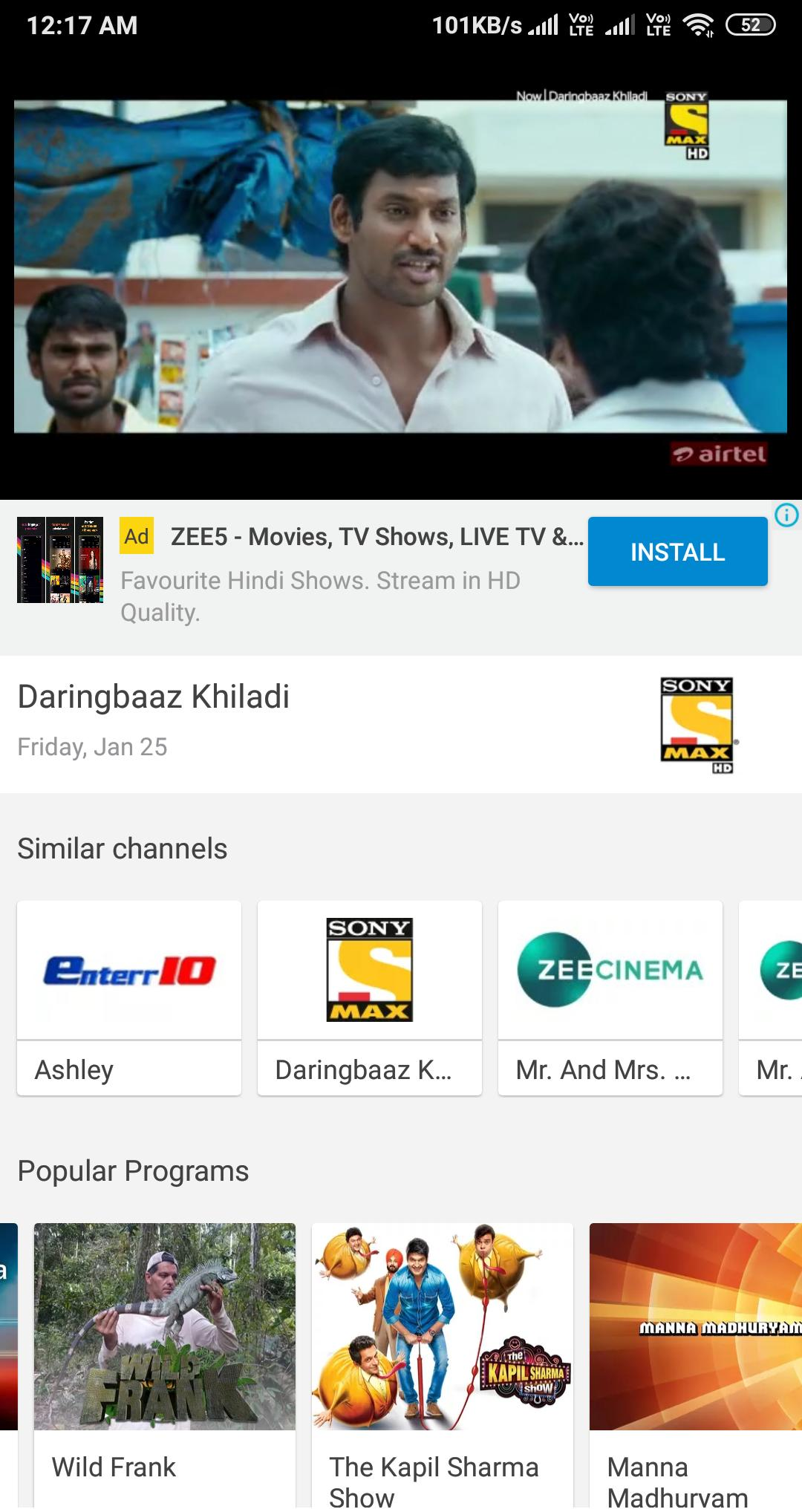 All India Live All TV Channels - Movies, News for Android - APK Download