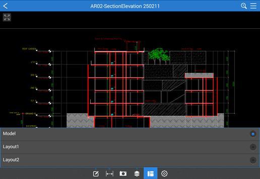7 Schermata CAD Reader