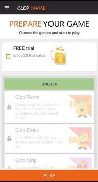 Drinking Card Game - Glop screenshot 1