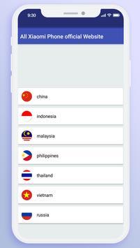 All Xiaomi Phone Official Website screenshot 3