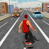 Street SkateBoard Game icon