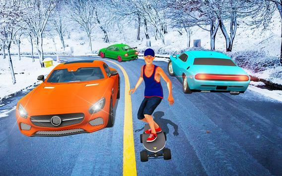 Street SkateBoard Game screenshot 7