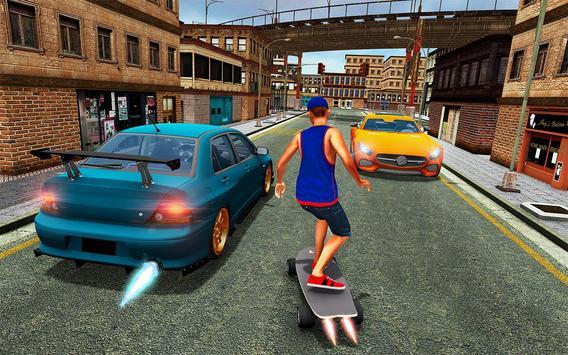 Street SkateBoard Game poster
