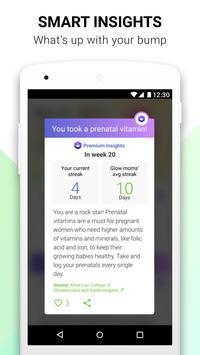 Pregnancy App & Baby Bump Tracker - Glow Nurture screenshot 4