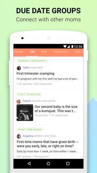 Pregnancy App & Baby Bump Tracker - Glow Nurture screenshot 2