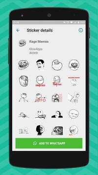 4 Schermata Meme Stickers for WhatsApp