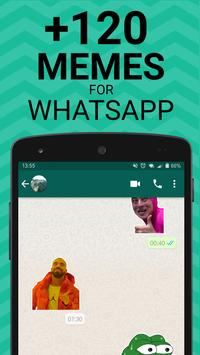 Poster Meme Stickers for WhatsApp