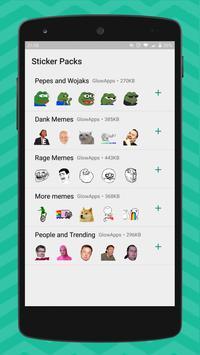 1 Schermata Meme Stickers for WhatsApp