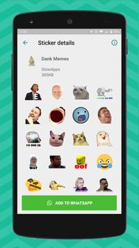 3 Schermata Meme Stickers for WhatsApp