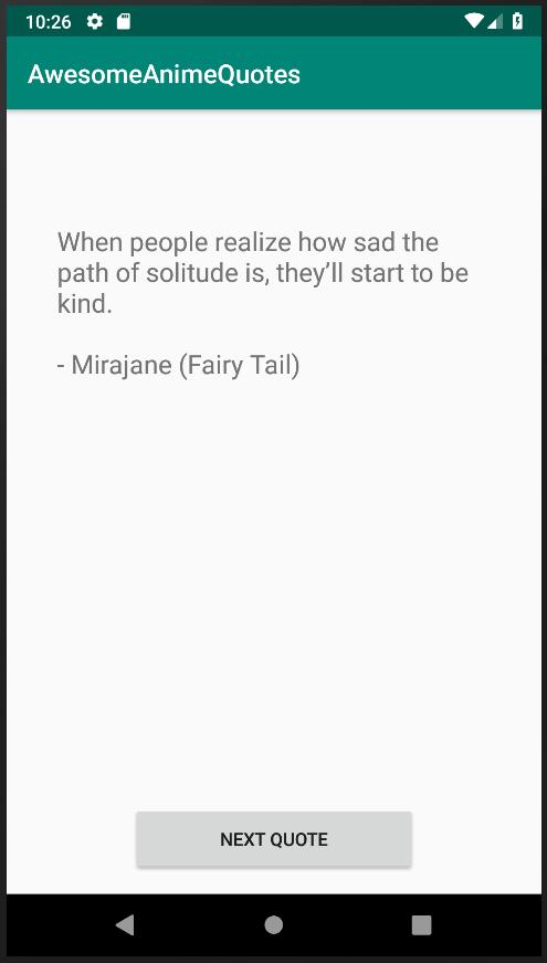 Awesome Anime Quotes For Android Apk Download And i will add other characters to this one chapter also. apkpure com