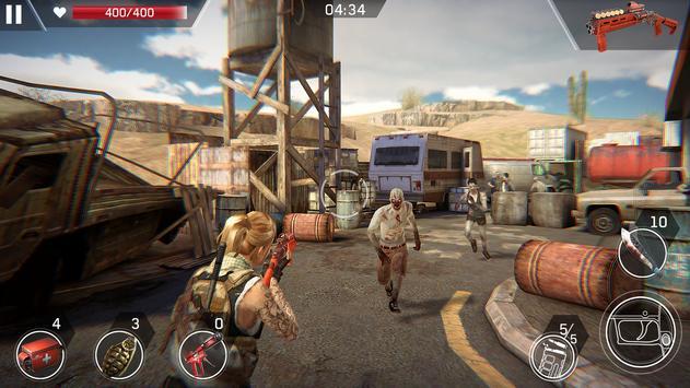 求生之路: PvP 殭屍射擊遊戲。 末日危機,在殭屍世界中生存 射击游戏 截圖 7