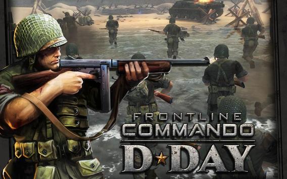 FRONTLINE COMMANDO: D-DAY الملصق