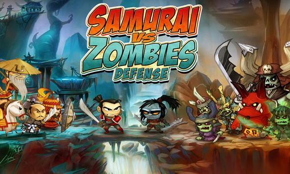 SAMURAI vs ZOMBIES DEFENSE الملصق