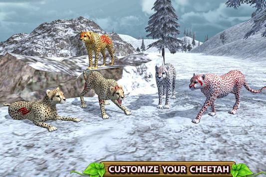 Furious Cheetah Family Simulator capture d'écran 11