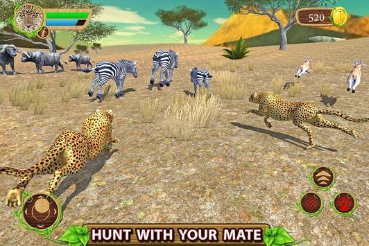 Furious Cheetah Family Simulator capture d'écran 12