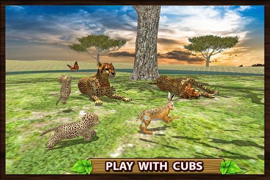 Furious Cheetah Family Simulator capture d'écran 14