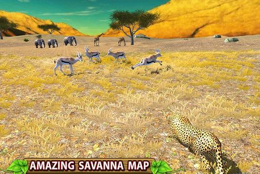 Furious Cheetah Family Simulator capture d'écran 1
