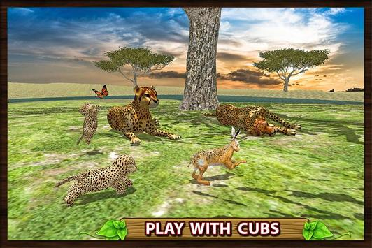 Furious Cheetah Family Simulator 스크린샷 2