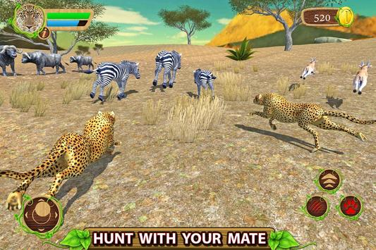 Furious Cheetah Family Simulator 스크린샷 6