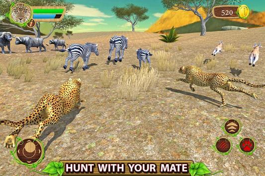 Furious Cheetah Family Simulator capture d'écran 6