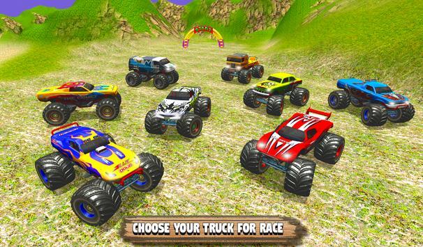 Grand Monster Truck Simulator Drive screenshot 14