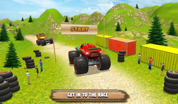 Grand Monster Truck Simulator Drive screenshot 11