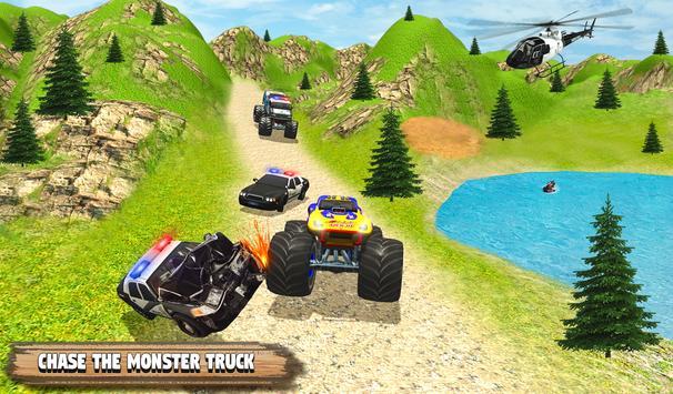 Grand Monster Truck Simulator Drive screenshot 12