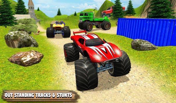 Grand Monster Truck Simulator Drive screenshot 1