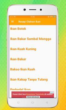 Resep Olahan Ikan screenshot 1