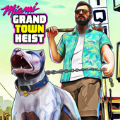Miami Gangster Grand Town Heist: Real Gangster 3D