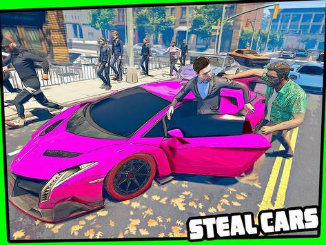 Real Miami Gangster Grand City: Crime Simulator 3D スクリーンショット 11