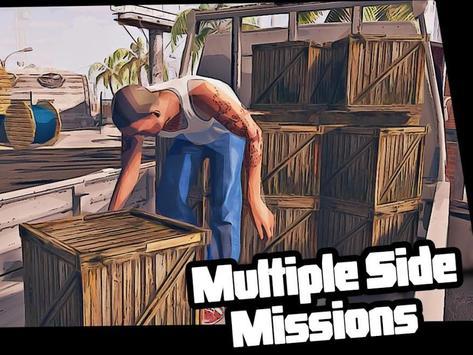 Real Miami Gangster Grand City: Crime Simulator 3D スクリーンショット 15