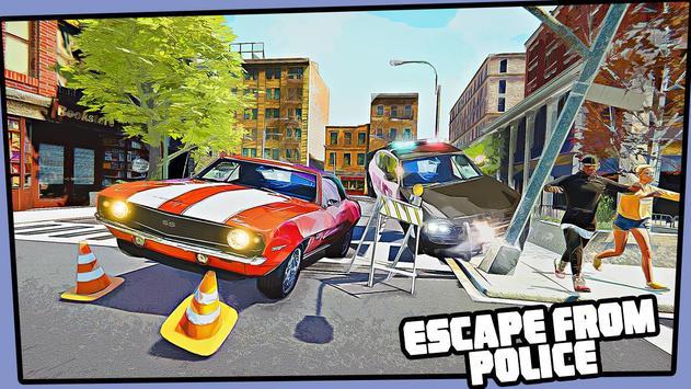Real Miami Gangster Grand City: Crime Simulator 3D スクリーンショット 1