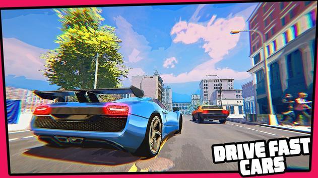 Real Miami Gangster Grand City: Crime Simulator 3D スクリーンショット 6