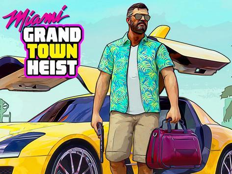 Real Miami Gangster Grand City: Crime Simulator 3D スクリーンショット 8