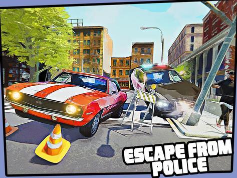 Real Miami Gangster Grand City: Crime Simulator 3D スクリーンショット 9