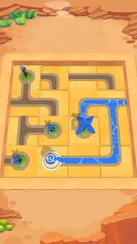 Water Connect Puzzle poster