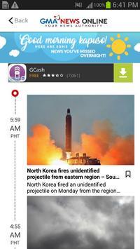 GMA News screenshot 1