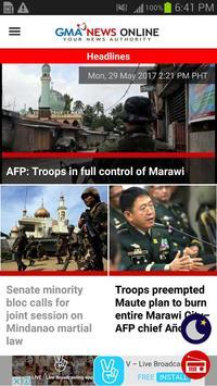 GMA News screenshot 2